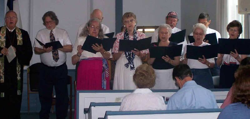 Choir on July 4, 2011