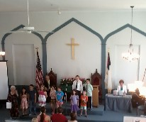Childrens' Sunday - these kids sing!